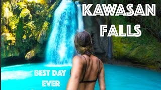 Kawasan Falls, Cebu - CLIFF JUMPING & CANYONEERING - BEST DAY EVER!