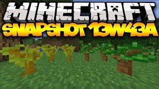 Minecraft Snapshot 13w43a - NEW SAPLINGS & LEAVES!