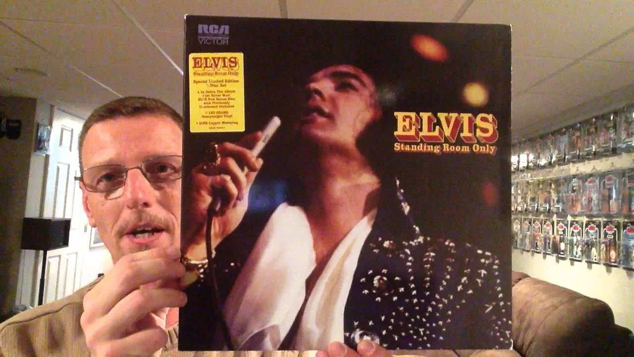 Elvis Presley FTD Standing Room Only double LP Vinyl Record showing &  review  The King's Court