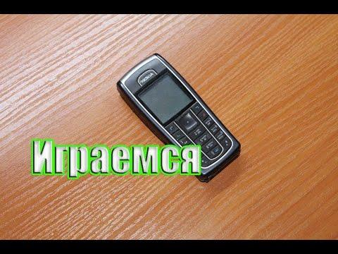Играем в Nokia 6230. Playing in phone nokia 6230