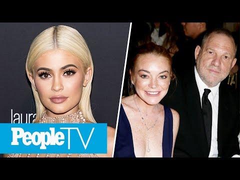 Did Kylie Jenner Just Reveal Her Baby's Gender? Lindsay Lohan Defends Harvey Weinstein | PeopleTV