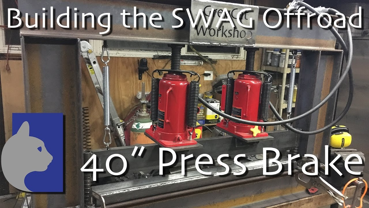 SWAG Off Road 12 TON Press Brake DIY Builder Kit