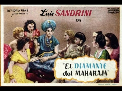 El Diamante del Maharaja 1946 Luis Sandrini
