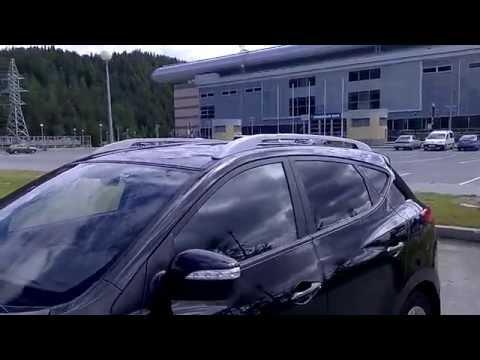 Рейлинги на крышу Hyundai IX 35 Winbo