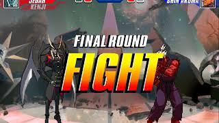 Fighting Game Bosses 162. Capcom Fighting Evolution - Shin Akuma boss battle