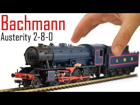 Bachmann WD Austerity 2-8-0 Unboxing & Review