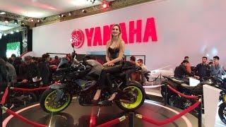 Motosiklet fuarı 2016 istanbul / Yamaha
