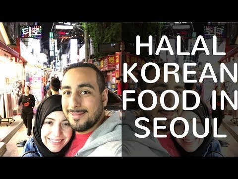 MUSLIMS TRY HALAL KOREAN FOOD IN SEOUL | South Korea Travel Vlog Itaewan & Hongdae