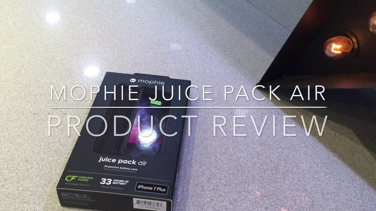 promo code 9fd76 f6135 MOPHIE Juice pack Air For Iphone 7 Plus Product Review