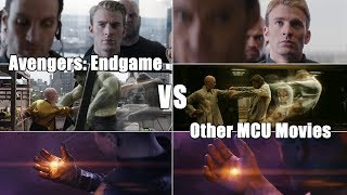 Avengers: Endgame vs Other MCU Movies Comparison