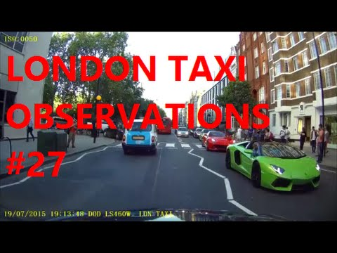 Dash Cam | London Taxi Cab Daily Observations (27) | Bad Drivers UK by TaxiWarrior