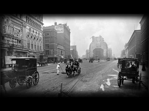 100 Years Evolution of traffic - 1910s till the 2010s