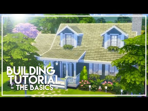 BASIC BUILDING TUTORIAL // The Sims 4: Builder's Bible