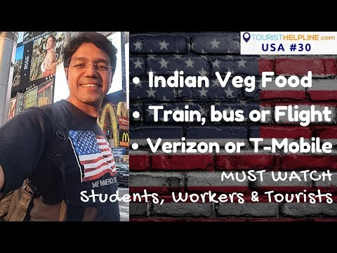 USA TRAVEL GUIDE: Food | Transport | Hotel | Mobile Sim | Free WiFi
