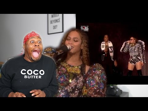 BEYONCE & JAY Z GLOBAL CITIZEN 2018 REACTION