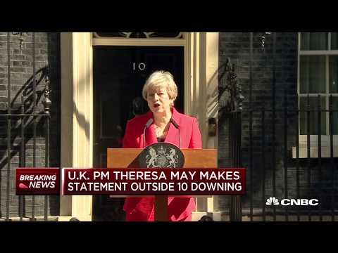 Full speech: British PM Theresa May announces her resignation on June 7th | Street Signs Europe