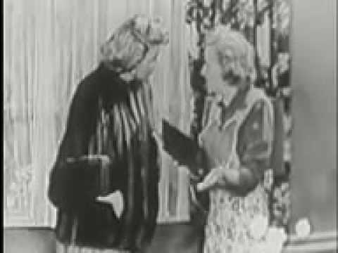 The George Burns and Gracie Allen Show -  GEORGES PARTY - part 1 - classic tv