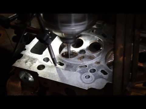 NEWEN CNC Valve seat Cutting Beryllium. Step 1