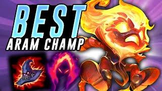 THE BEST ARAM CHAMP?! Amumu ARAM - League Of Legends