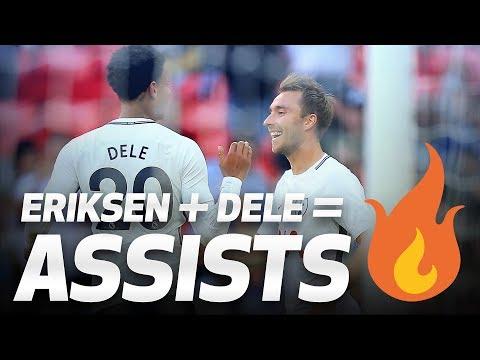 Eriksen + Dele = 🔥🔥🔥 | ERIKSEN ASSISTS