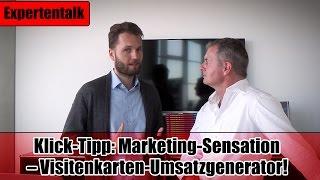 Klick-Tipp: Marketing-Sensation – Visitenkarten-Umsatzgenerator!