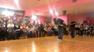 REKOZ ( FUNKY HABITS CREW ) POPPING SHOW AT SING A LING DANCING STUDIO 2014