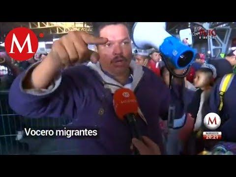 En Jalisco y Nayarit, paso fugaz de caravana