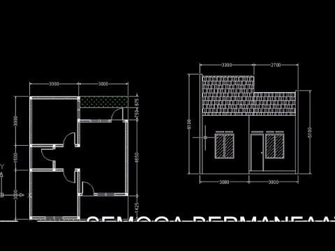 700 Koleksi Ide Desain Rumah Minimalis Autocad Terbaik Untuk Di Contoh