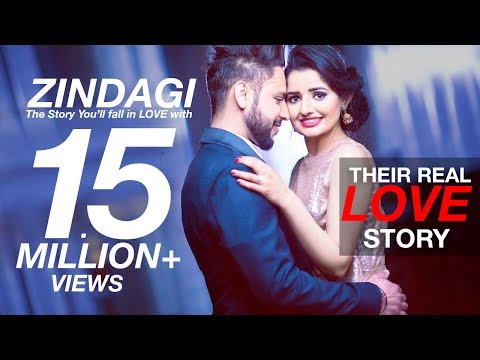Thumbnail: Zindagi | Akhil | A True Love Story | Ramandeep 😍 Parminder | Best Indian Pre Wedding Video 2017