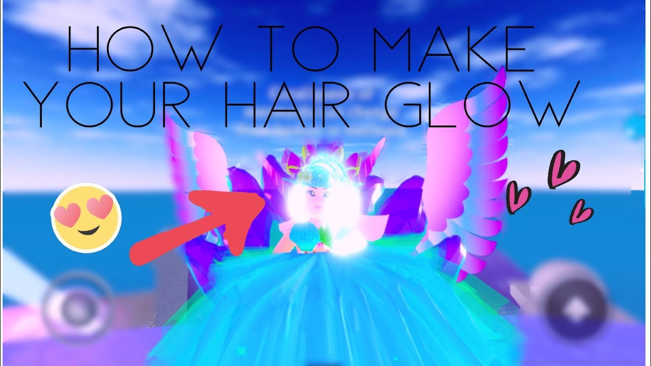 How To Make Your Hair Glow In Royale High Quick And Easy Tutorial