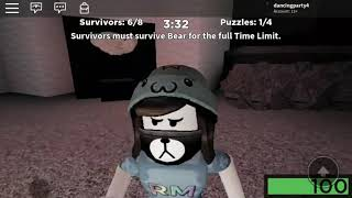 I played bear on roblox with evan8802!!! (Another youtuber!!!)