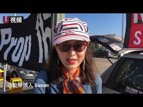华人抗议加州16号提案「开历史的倒车」(图/视频)