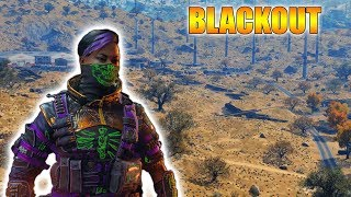 Playing Blackout Blackedout // SHAMROCK & AWE // 863 WINS! // NEW UPDATE!!! // CoD // PS4