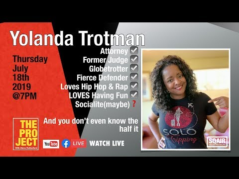 Yolanda Trotman Appearing on The PROJECT with Steve Rutherford