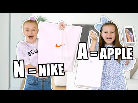 Buying EVERYTHING in ALPHABETICAL ORDER challenge!