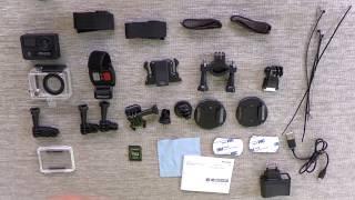 Salora ACE900 ActionCam Unboxing | 4K and 360º/VR mode!!