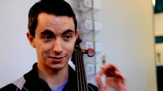 23 year-old cellist performs on his 300 year old Stradivarius