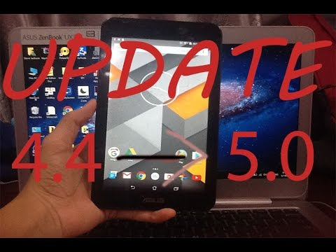 Update ASUS Fonepad 7 K012/FE170CG to Android 5.0 Lollipop