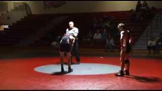 Bedford Bulldogs Vs Keene Blackbirds - Nhiaa D1 Wrestling (1/29/15)