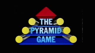 The Pyramid Game Series 5 Programme 1 TVS Production 1990