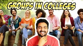 GROUPS IN COLLEGES | AWESAMO SPEAKS