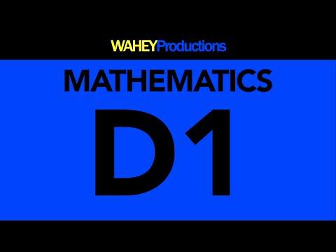 D1   Mathematics