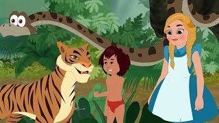 The Jungle Book & Alice In Wonderland -Tamil Fairy Tales - தி ஜங்கிள் புக் &அலிஸ் இன் ஒண்டர்லாண்ட்