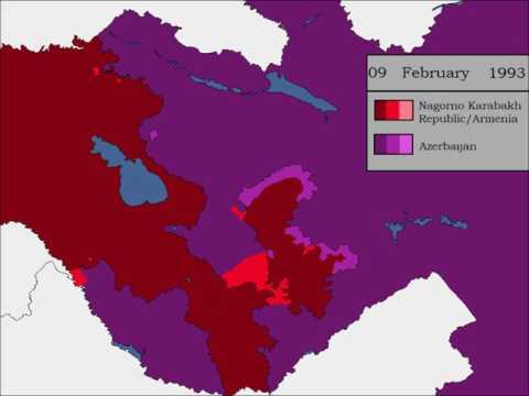 The Nagorno Karabakh War - Every Day
