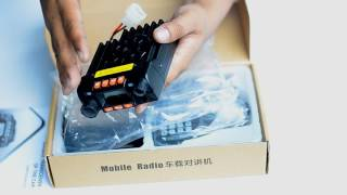 unboxing mobile radio mini rig qyt kt8900