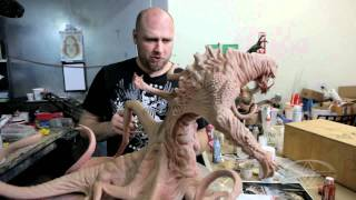 Monster Maquette Assembly & Paint - PREVIEW