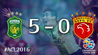 Video Gol Pertandingan Jeonbuk Hyundai Motors vs Shanghai SIPG