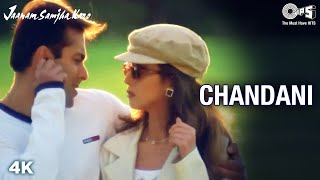Oh Oh Oh Chandani | Salman Khan | Urmila M | Udit N | Jaanam Samjha Karo | 90's Romantic Hindi Songs