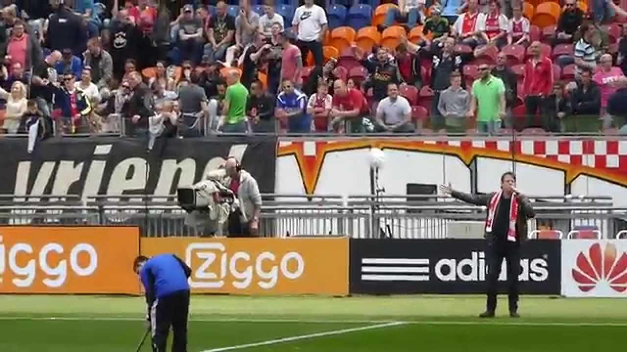 Ajax - SC Cambuur 10 mei 2015 - Dit is mijn club - Live