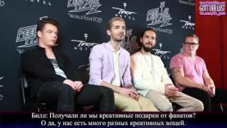 #40 Selfie from Mars - Tokio Hotel TV 2015 ( с русскими субтитрами)